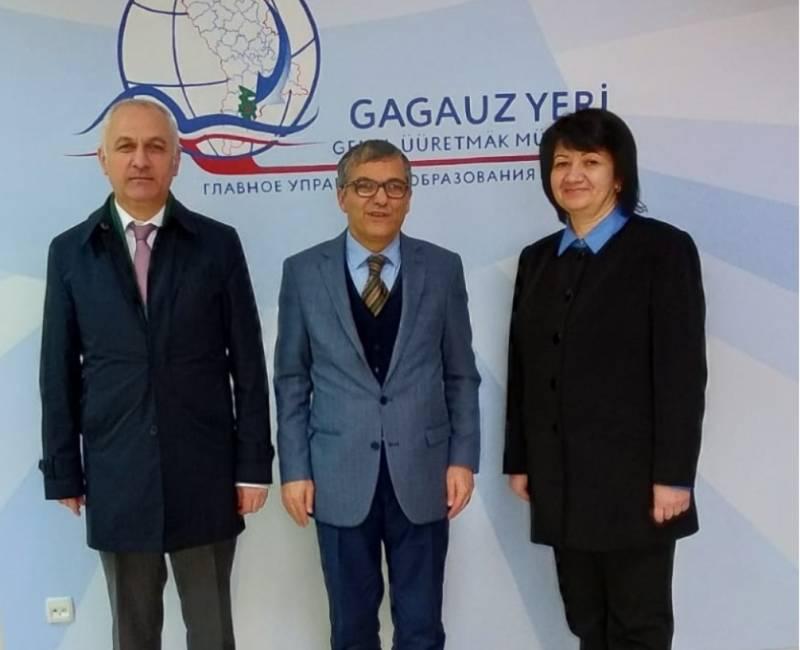 Начальник ГУО Гагаузии и Консул Турции в Комрате обсудили детали реализации стипендиальной программы