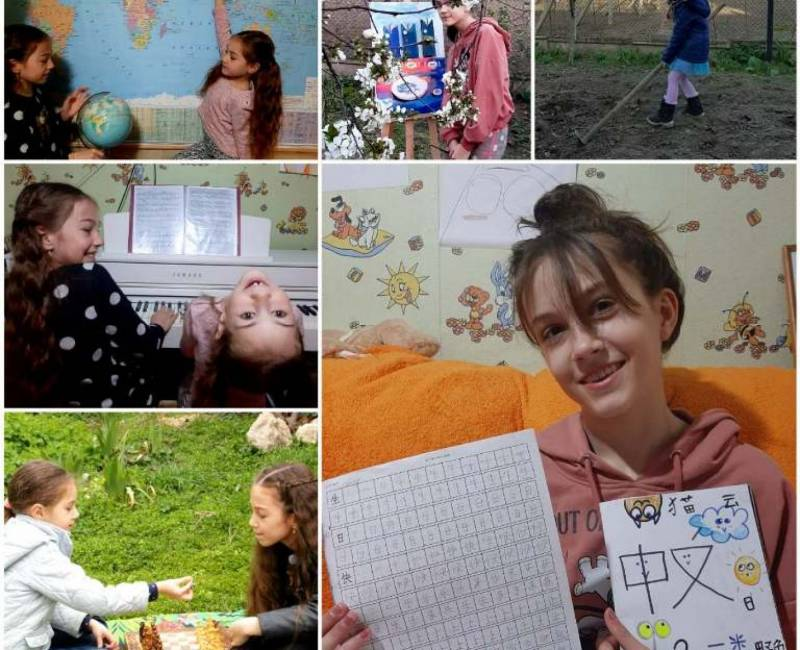Управление образования объявляет о старте фото-акции «#ОстаюсьДомаиРазвиваюсь» среди учащихся Гагаузии