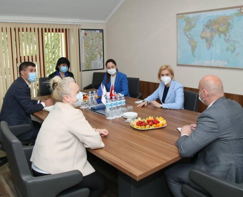 Рабочая встреча с координатором агентства TİKA