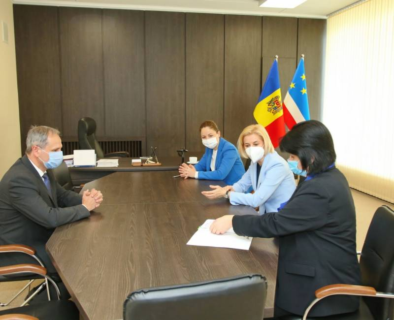Новые направления сотрудничества обсуждены на встрече руководства Гагаузии и Технического университета Молдовы