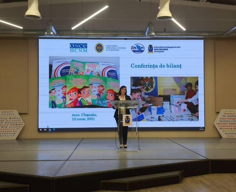 Республиканская конференция по улучшению преподавания государственного языка в школах нацменьшинств