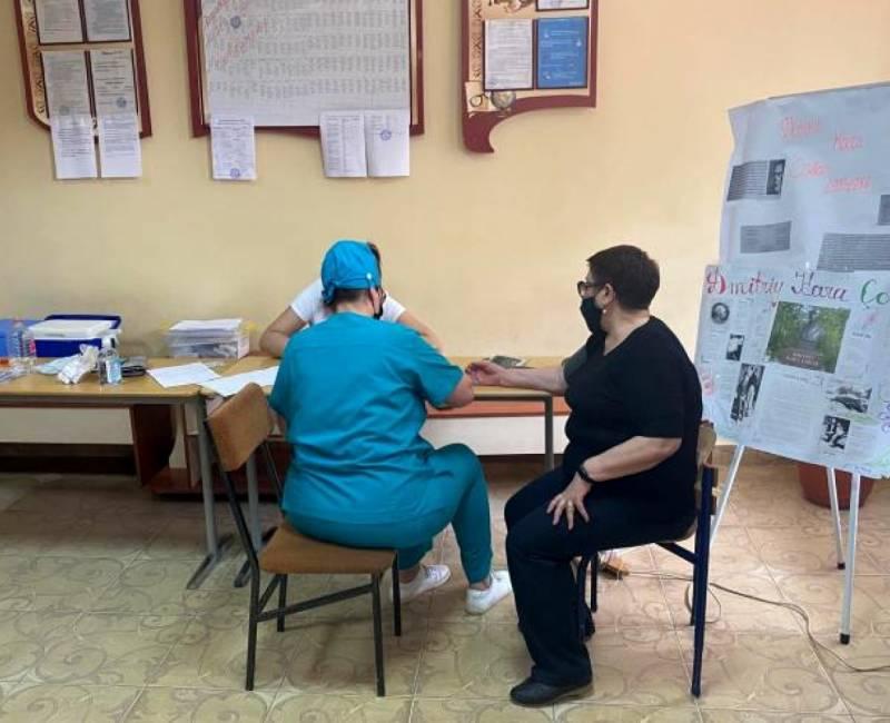 Кампания по вакцинации от Covid-19: 66% всех работников школ и детских садов Гагаузии сделали прививку