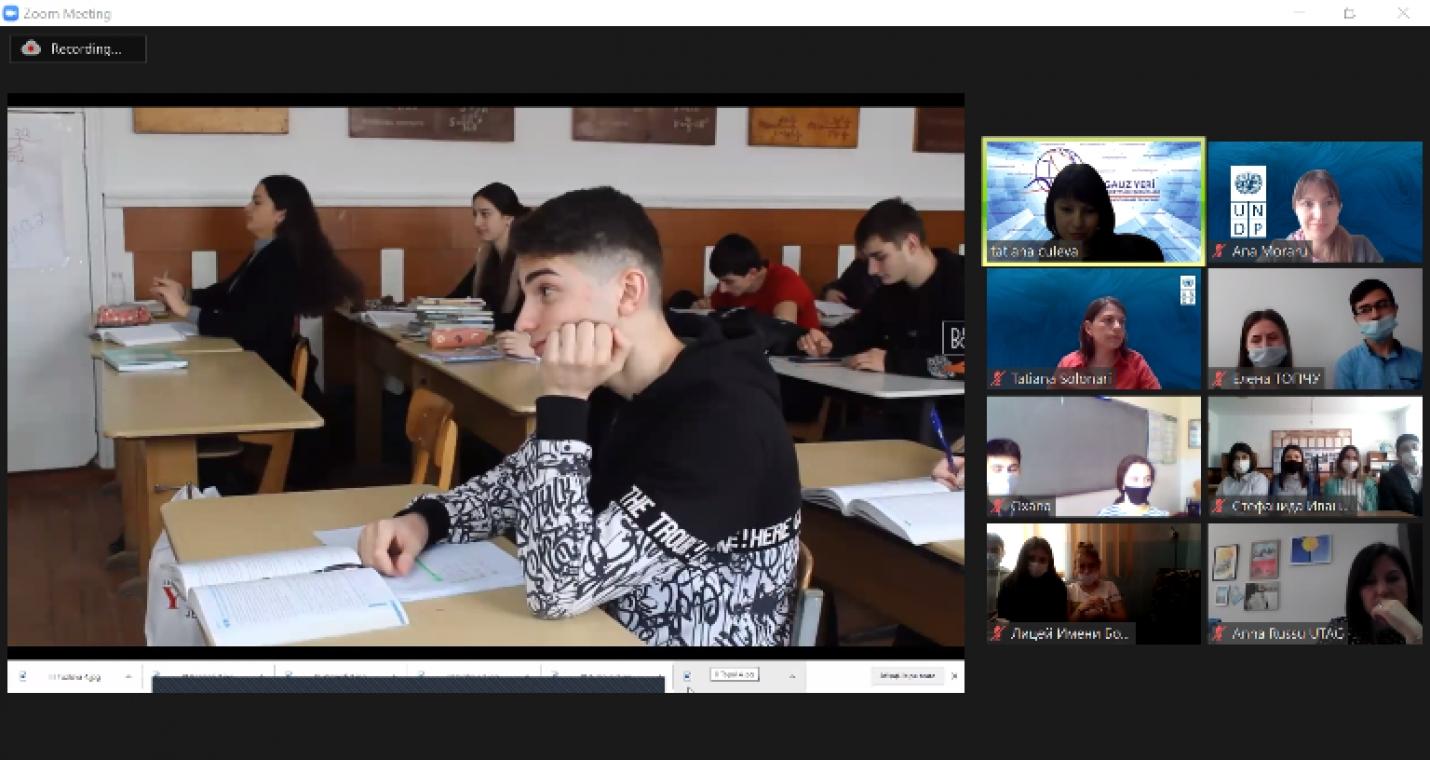 Онлайн-церемония награждения победителей конкурса видеороликов «Школа будущего»